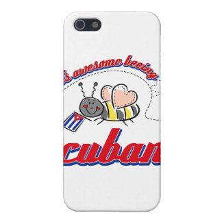 Es el ser impresionante cubano iPhone 5 funda