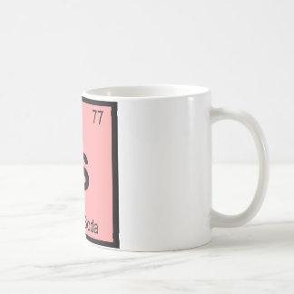 Es - el símbolo italiano de la tabla periódica de taza clásica