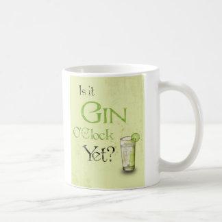 ¿Es en punto de la ginebra todavía? taza
