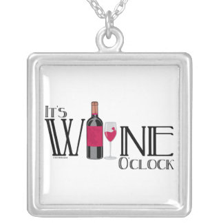 Es en punto del vino colgante cuadrado