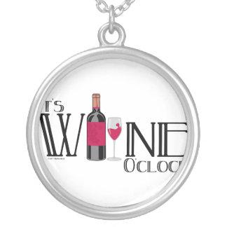 Es en punto del vino colgante redondo