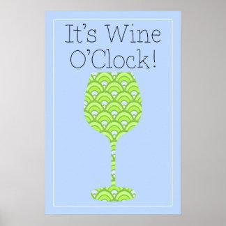 ¡Es en punto del vino, Gimme mi vino! Poster del