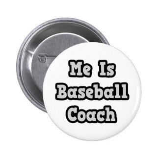 Es entrenador de béisbol pins