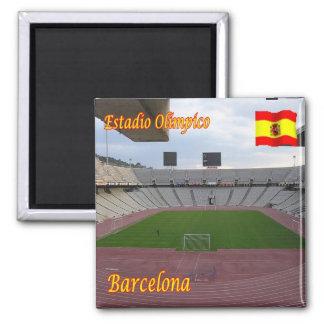 ES - España - Barcelona - stadio olímpico Imán Cuadrado