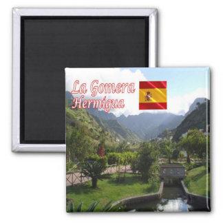 ES - España - La Gomera - parque Hermigua de Imán Cuadrado