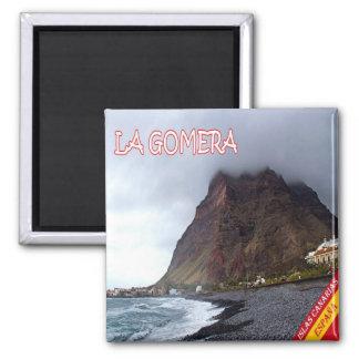 ES - España - La Gomera - playa Imán Cuadrado