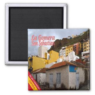ES - España - La Gomera - San Sebastián Imán Cuadrado
