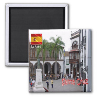 ES - España - La Palma - Santa Cruz Plaza de Imán Cuadrado