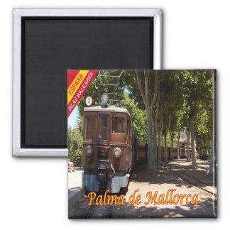 ES - España-Palma de Mallorca-Ferrocarril de Imán Cuadrado