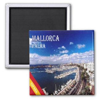 ES - España - Palma de Mallorca Imán Cuadrado
