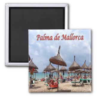 ES - España - Palma de Mallorca - la playa Imán Cuadrado