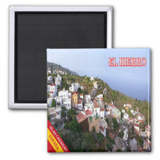 ES - España - Tenerife - EL Hierro - el pino Imán Cuadrado