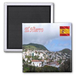 ES - España - Tenerife - EL Hierro - Valverde Imán Cuadrado