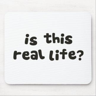 ¿Es esta vida real?  Metafísico bebido Tapete De Ratones