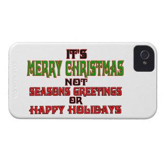 Es Felices Navidad iPhone 4 Cárcasa