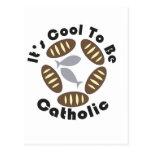 Es fresco ser católico postal