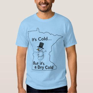 Es frío en Minnesota Playeras