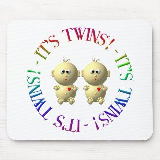 ¡Es gemelos! Tapete De Ratones