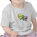 Es globos de un chica camisetas