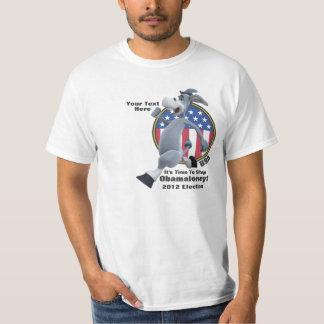 Es hora de parar Obamaloney - elección 2012 Camisas