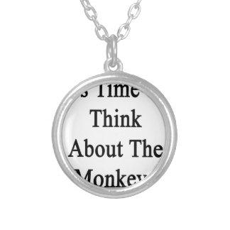 Es hora de pensar en los monos colgante redondo