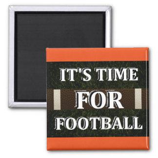 Es hora para el imán del fútbol