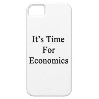 Es hora para la economía iPhone 5 fundas