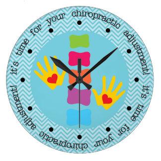 Es hora para su reloj del ajuste de la