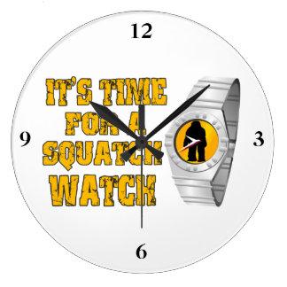 Es hora para un reloj de Squatch