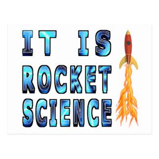Es ingeniería espacial tarjeta postal