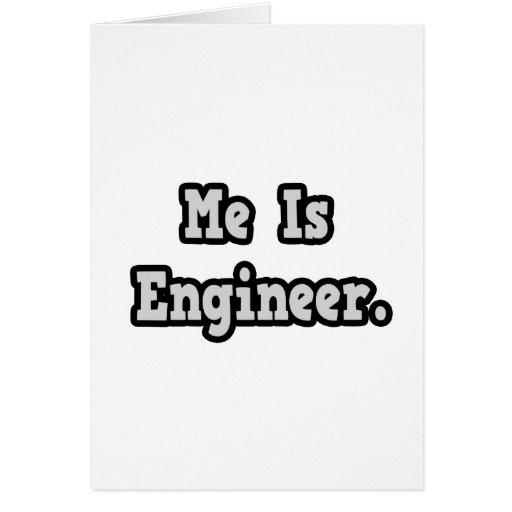 Es ingeniero tarjeton
