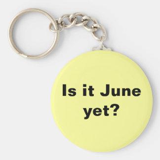 ¿Es junio? Llavero
