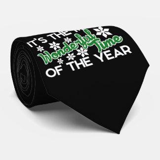 Es la época más maravillosa del año corbata personalizada