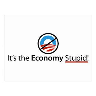 Es la postal estúpida de la economía