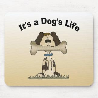 Es la vida de un perro tapetes de ratón
