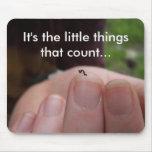 Es las pequeñas cosas… tapete de raton