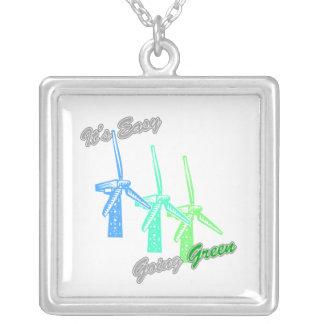 Es los molinoes de viento tolerantes 2 del verde 3 joyerías