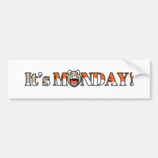 ¡Es lunes! Pegatina Para Auto
