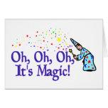 Es mágico felicitación