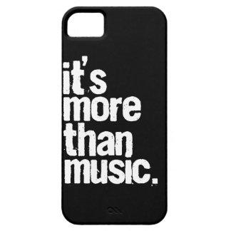 Es más que música iPhone 5 Case-Mate cobertura