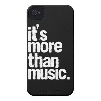 Es más que música iPhone 4 cárcasa