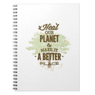 Es más simple ahorrar de papel que plantar árboles libro de apuntes con espiral