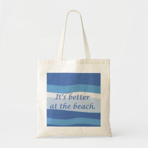 Es mejor en el bolso de la playa bolsas