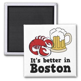 Es mejor en el imán de Boston