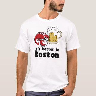 Es mejor en la camiseta de Boston