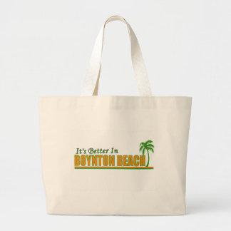 Es mejor en la playa de Boynton Bolsas De Mano