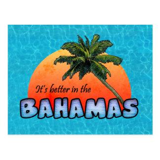 Es mejor en las Bahamas Postales