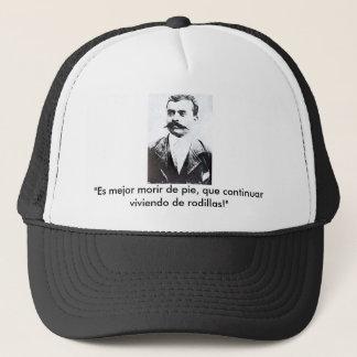 es mejor morir de pie, que continuar... trucker hat