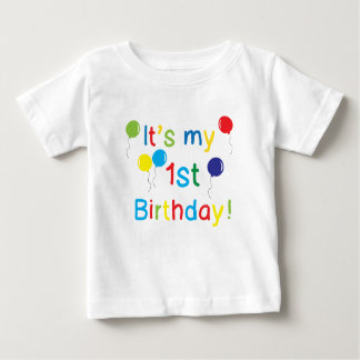 Es mi 1r cumpleaños remera