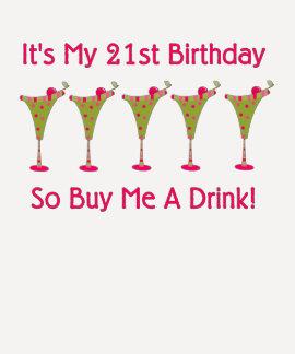 Es mi 21ro cumpleaños camisas